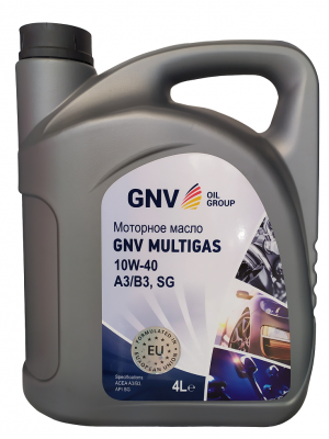 Моторное масло 10w40 Multigaz GNV OIL